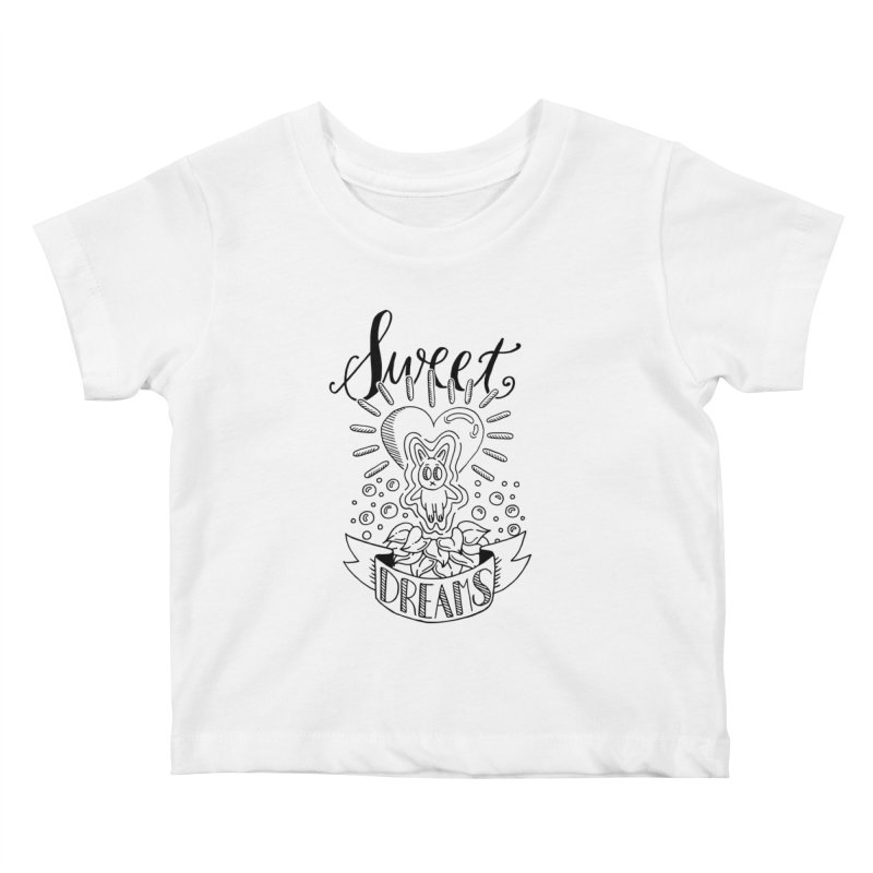 Sweet Dreams Kids Baby T-Shirt by Astrovix