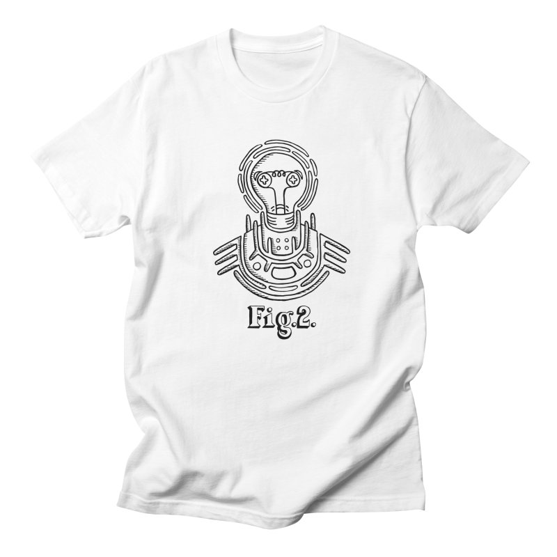 Mr. Robotic Men's T-Shirt by Astrovix