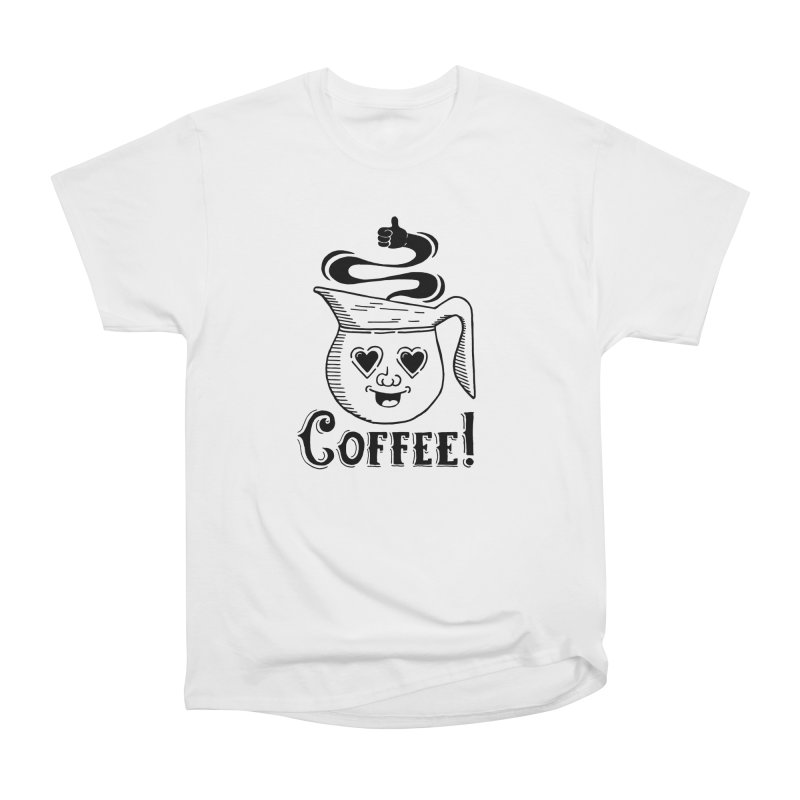 Coffee Pot Genie Women's Classic Unisex T-Shirt by Astrovix