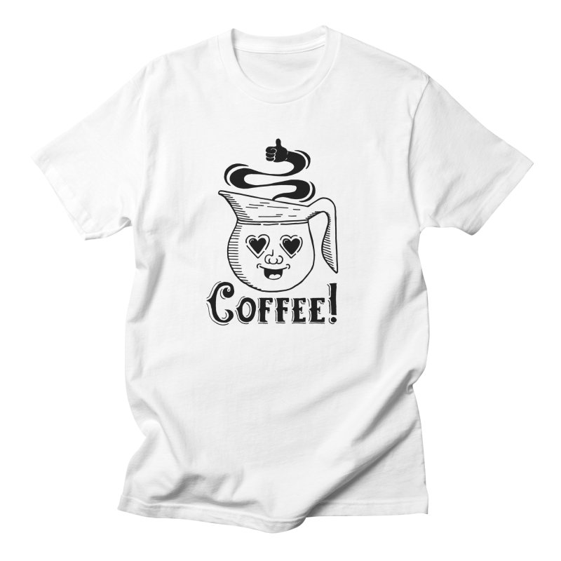 Coffee Pot Genie Women's Unisex T-Shirt by Astrovix