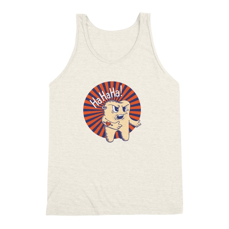 Mean Tooth Men's Triblend Tank by Astrovix