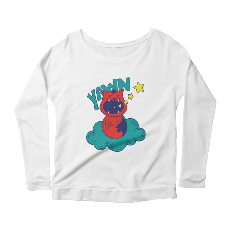 Lalaland Women's Scoop Neck Longsleeve T-Shirt by Astrovix