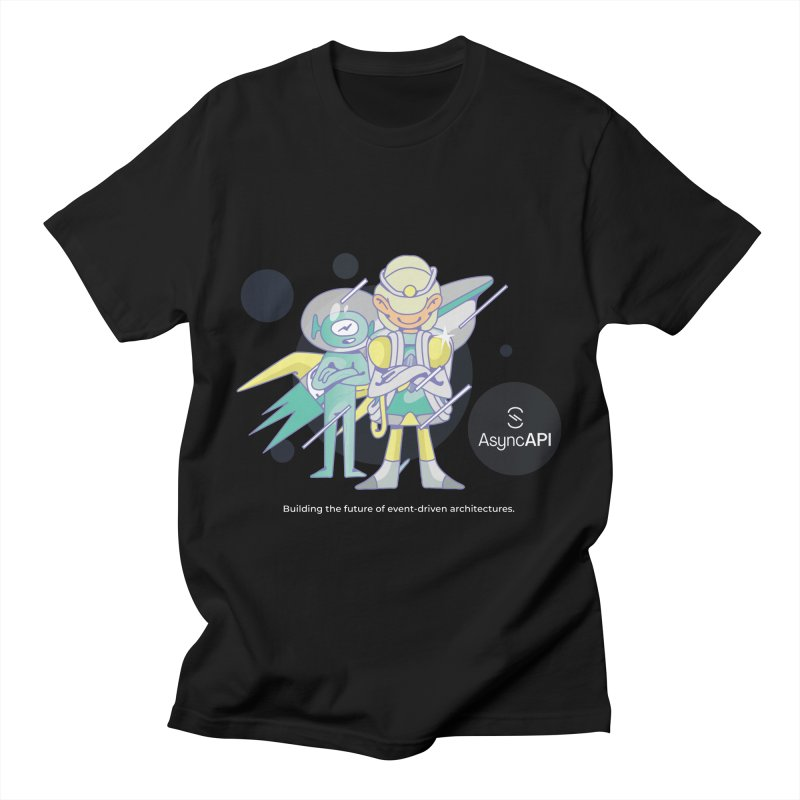 Eve & Chan: AsyncAPI 2.0.0 launch Men's T-Shirt by AsyncAPI official shop