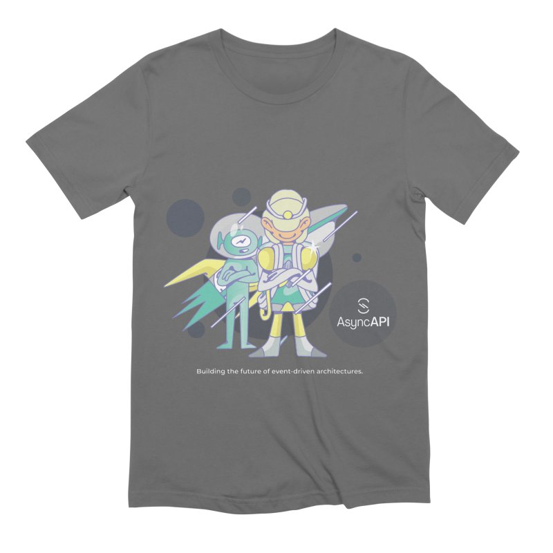 Eve & Chan: AsyncAPI 2.0.0 launch Men's T-Shirt by AsyncAPI official shop