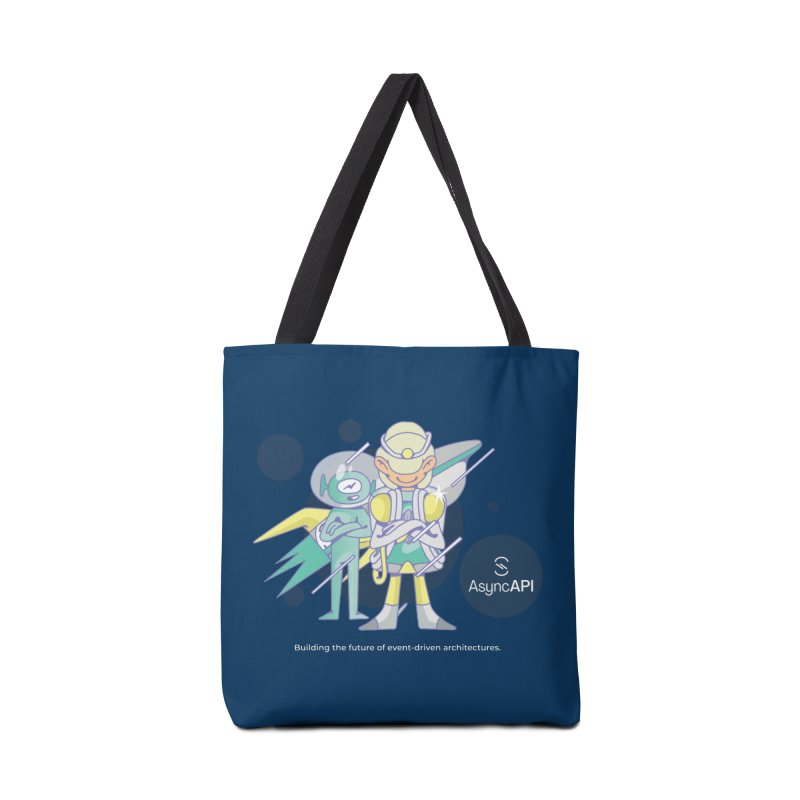 Eve & Chan: AsyncAPI 2.0.0 launch Accessories Bag by AsyncAPI official shop