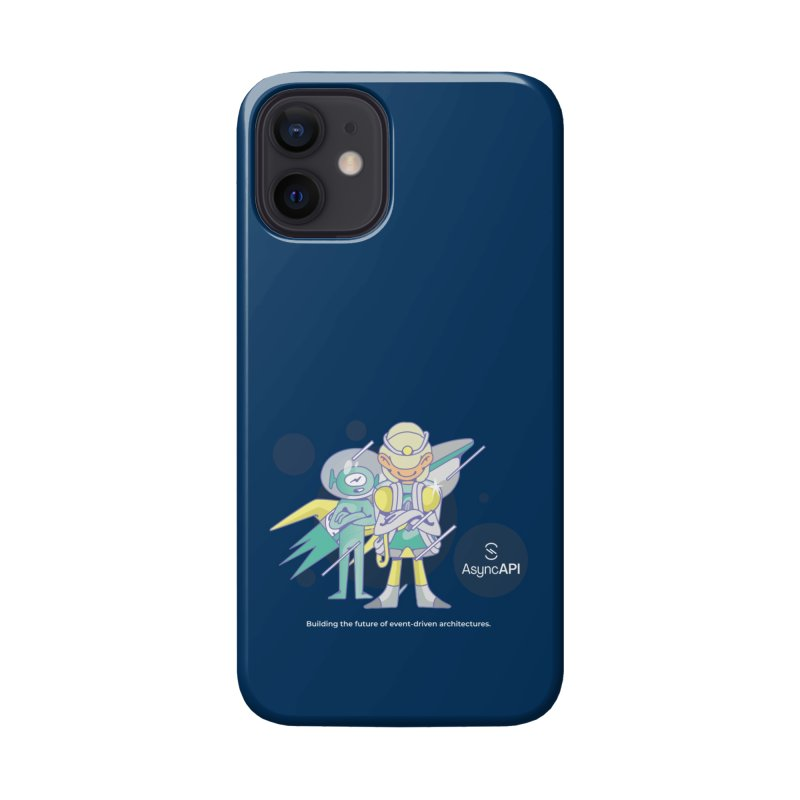 Eve & Chan: AsyncAPI 2.0.0 launch Accessories Phone Case by AsyncAPI official shop