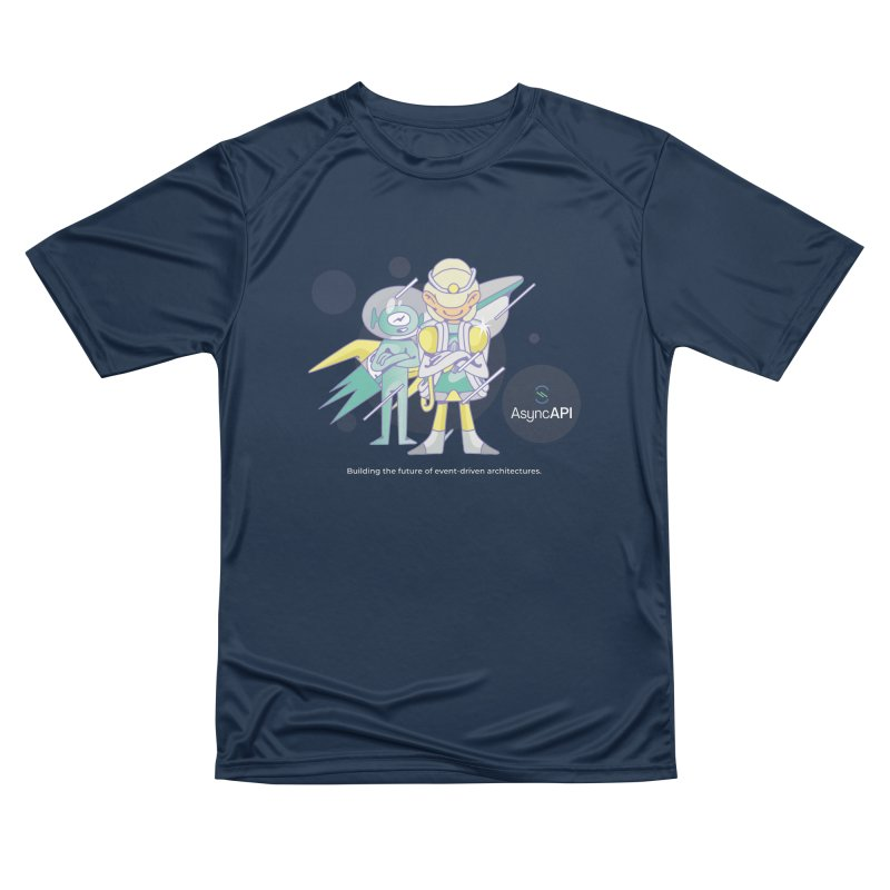 Eve & Chan: AsyncAPI 2.0.0 launch Men's Performance T-Shirt by AsyncAPI official shop