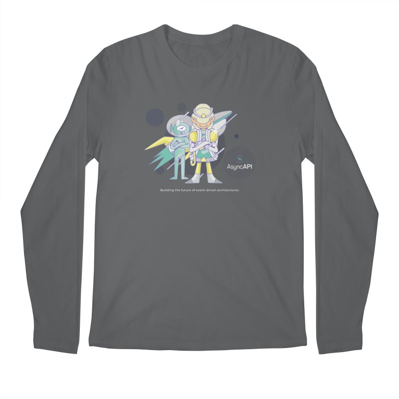 Eve & Chan: AsyncAPI 2.0.0 launch Men's Regular Longsleeve T-Shirt by AsyncAPI official shop