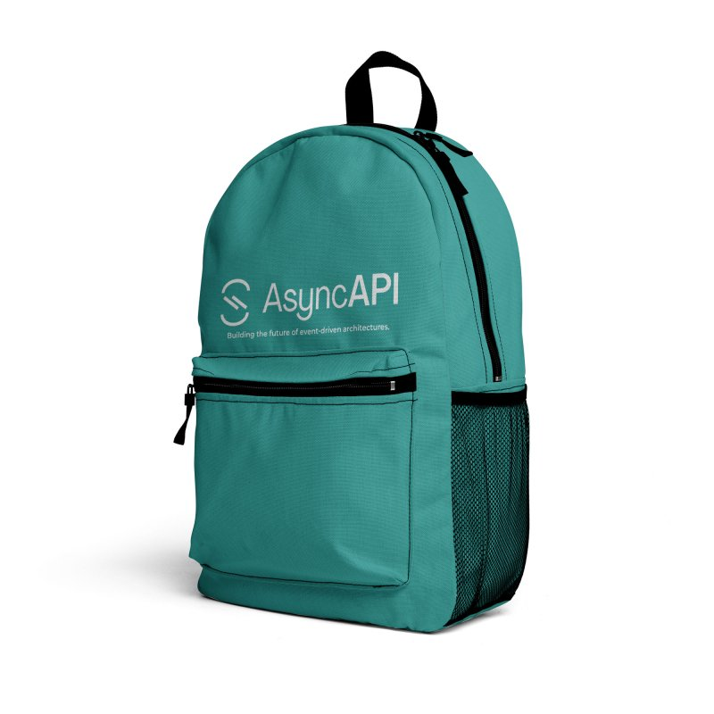 AsyncAPI Logo Accessories Bag by AsyncAPI official shop