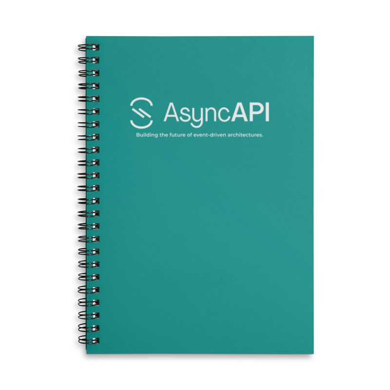 AsyncAPI Logo Accessories Notebook by AsyncAPI official shop