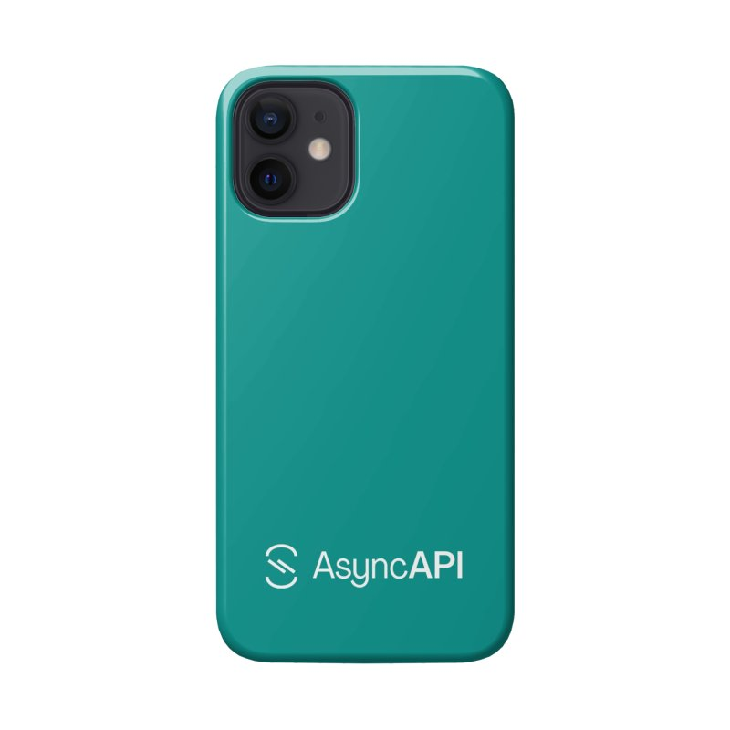 AsyncAPI Logo Accessories Phone Case by AsyncAPI official shop