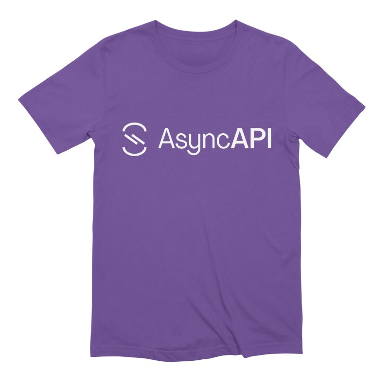 AsyncAPI Logo Men's T-Shirt by AsyncAPI official shop