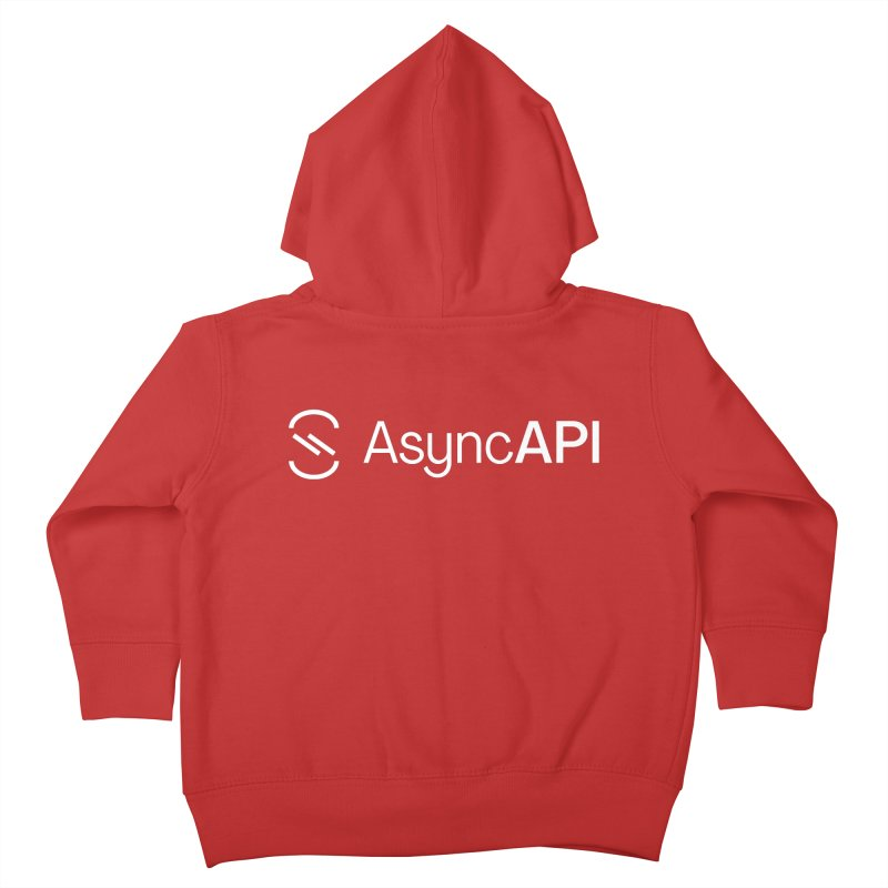 AsyncAPI Logo Kids Toddler Zip-Up Hoody by AsyncAPI official shop