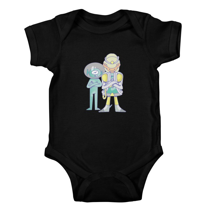 Eve & Chan Kids Baby Bodysuit by AsyncAPI official shop