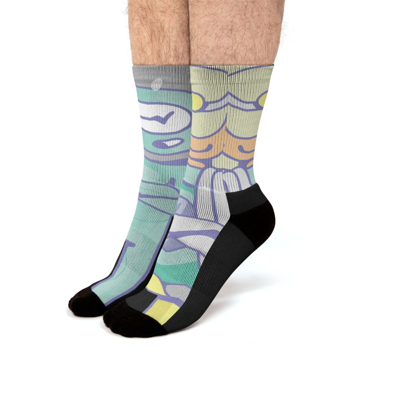 Eve & Chan Men's Socks by AsyncAPI official shop
