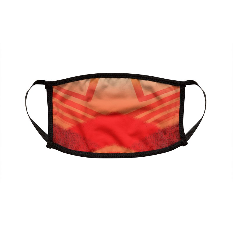 Red Squadron Accessories Face Mask by Athenic