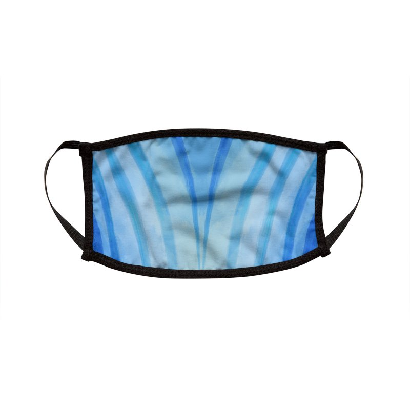 Fountains Accessories Face Mask by Athenic