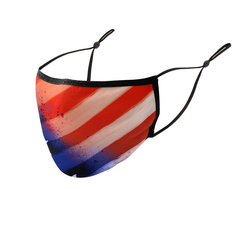Stars and Stripes Accessories Face Mask by Athenic