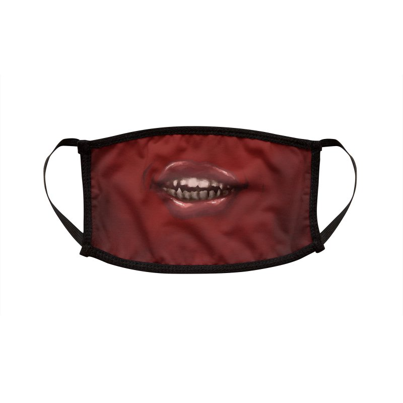 Crimson Grin Accessories Face Mask by Athenic
