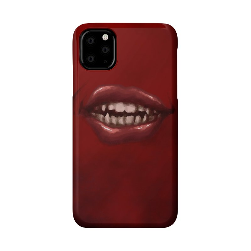 Crimson Grin Accessories Phone Case by Athenic