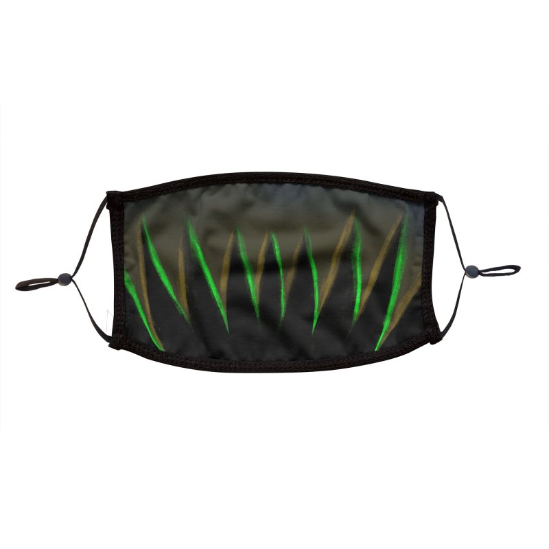 Alien Maw Accessories Face Mask by Athenic