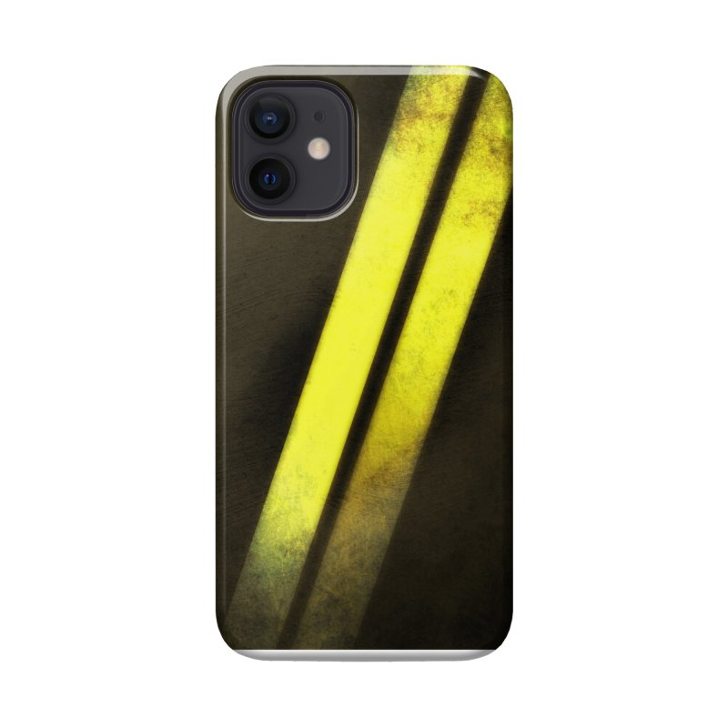 Double Line Accessories Phone Case by Athenic