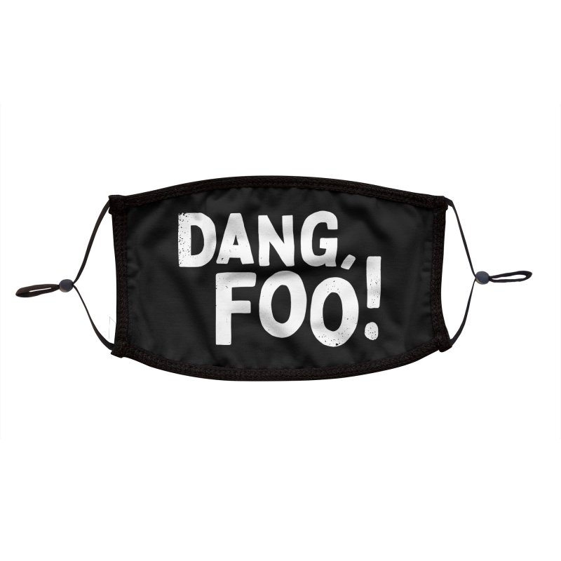 Dang, Foo! Accessories Face Mask by Athenic