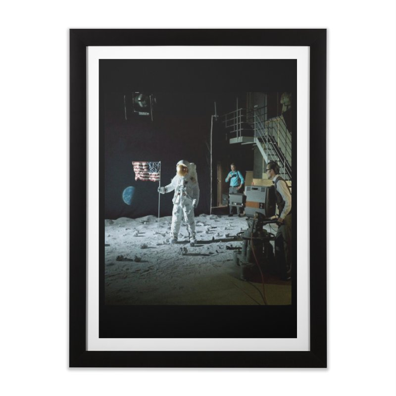 This is a test Home Framed Fine Art Print by Feed me tacos!
