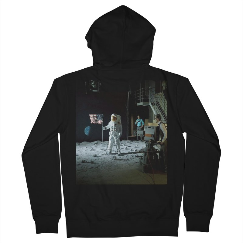 This is a test Men's French Terry Zip-Up Hoody by Feed me tacos!