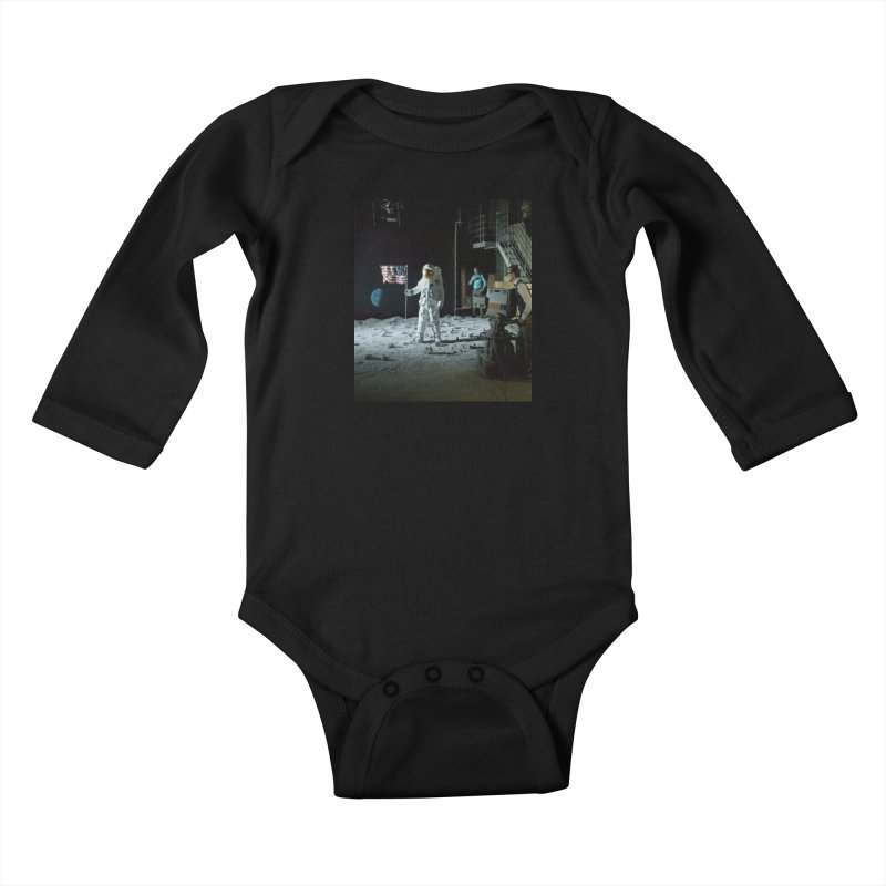 This is a test Kids Baby Longsleeve Bodysuit by Feed me tacos!