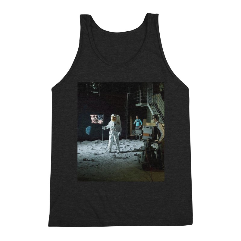 This is a test Men's Triblend Tank by Feed me tacos!