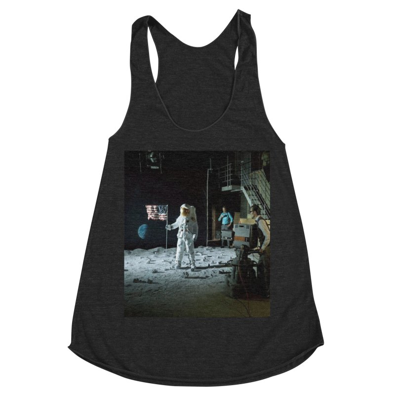 This is a test Women's Racerback Triblend Tank by Feed me tacos!