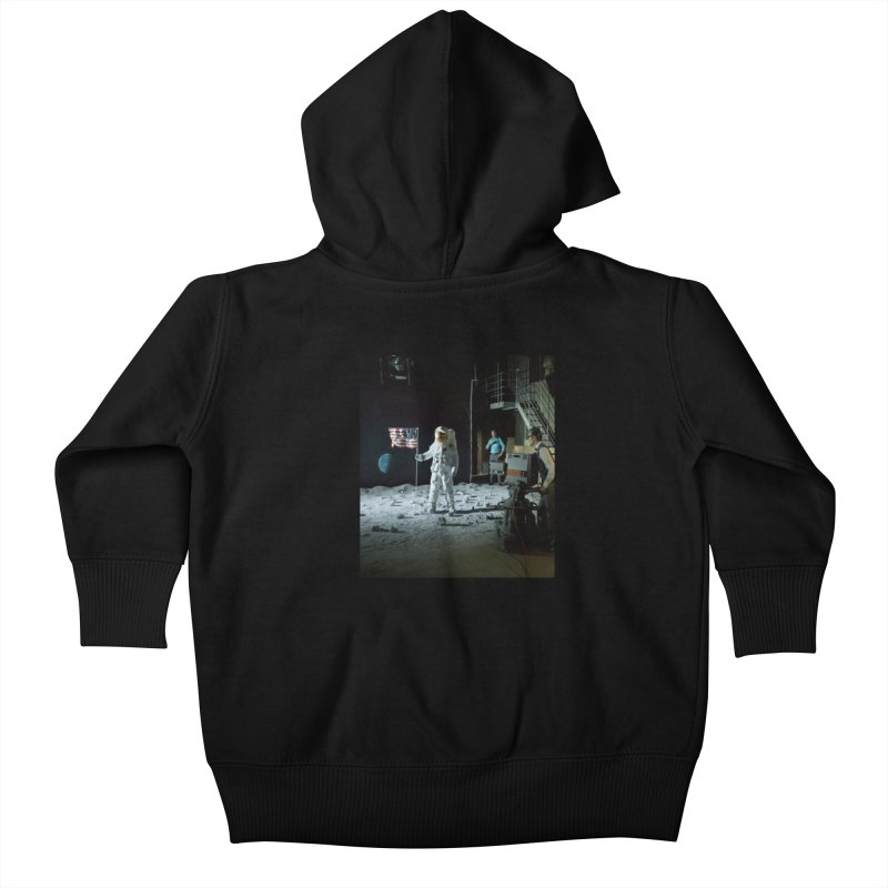 This is a test Kids Baby Zip-Up Hoody by Feed me tacos!