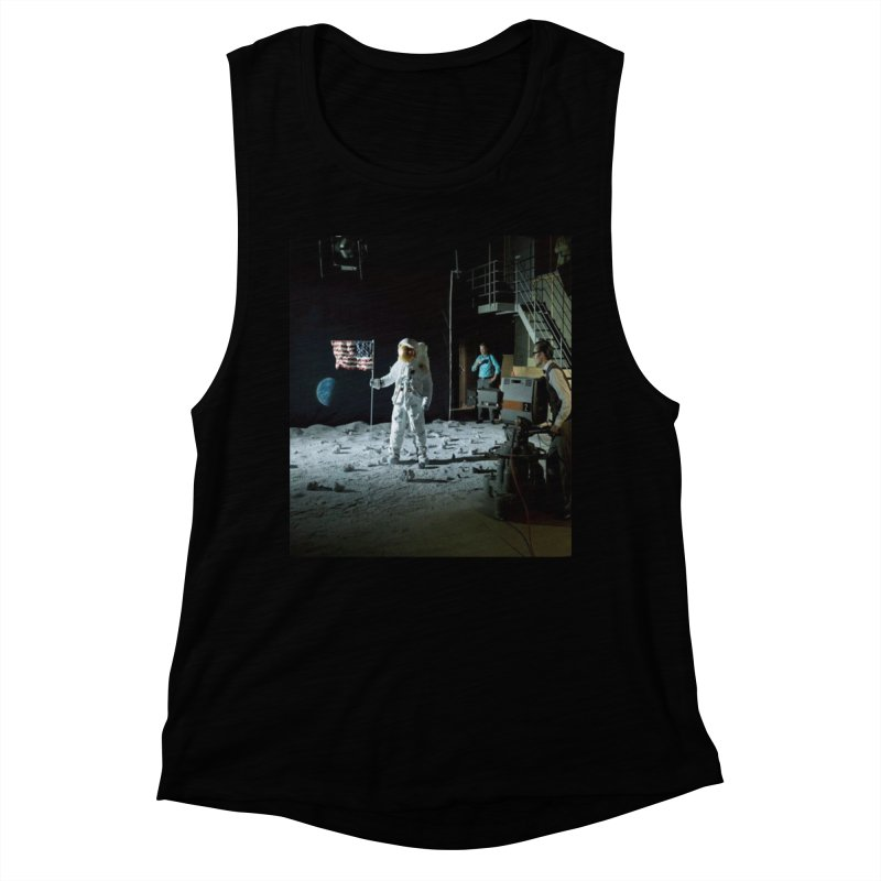 This is a test Women's Muscle Tank by Feed me tacos!