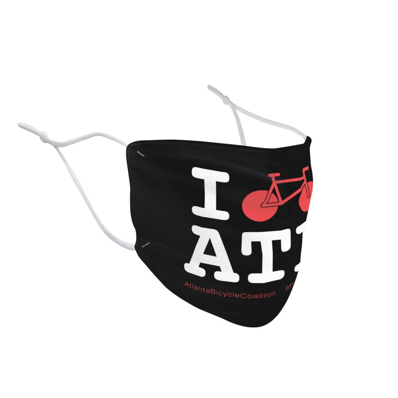 I bike ATL Accessories Face Mask by Atlanta Bicycle Coalition's Merch Shop