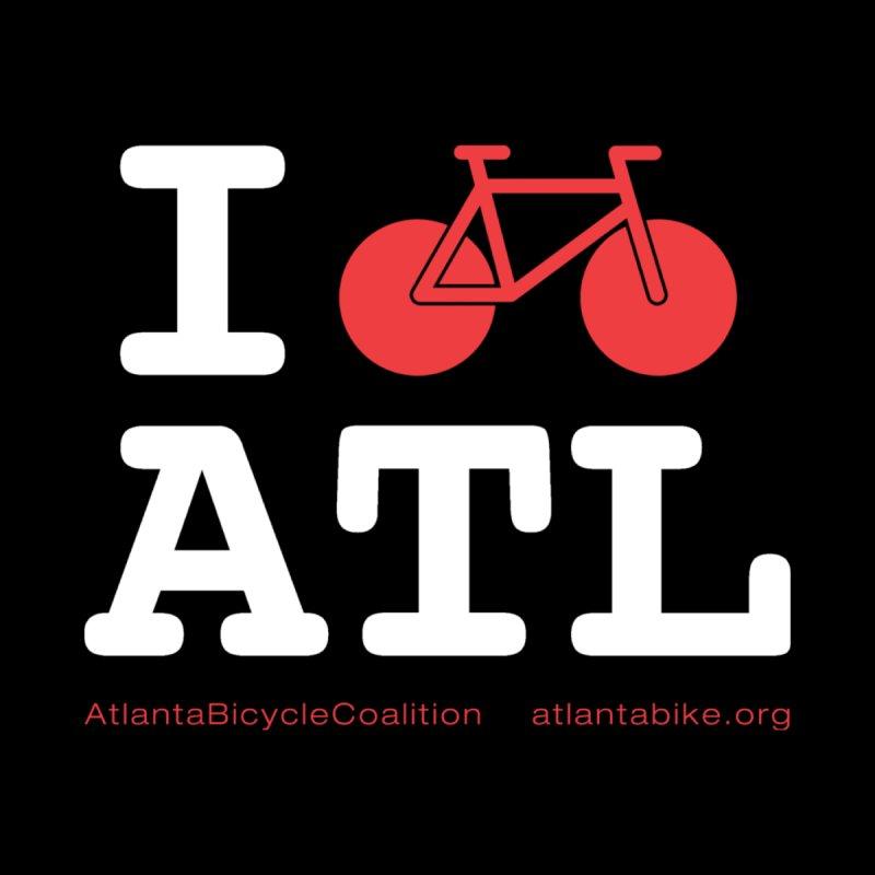 I bike ATL Men's T-Shirt by Atlanta Bicycle Coalition's Merch Shop