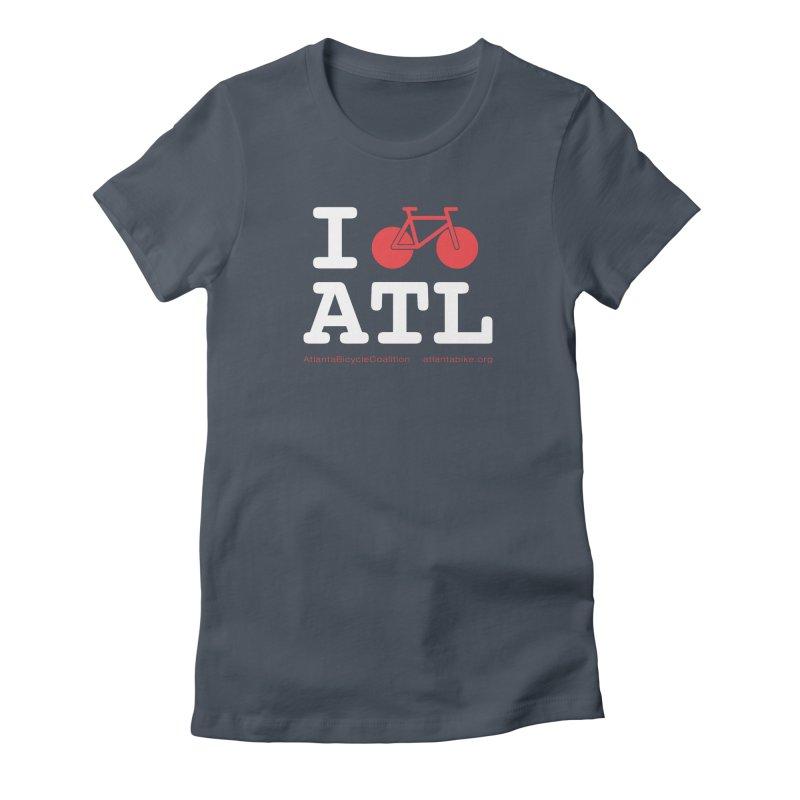 I bike ATL Women's T-Shirt by Atlanta Bicycle Coalition's Merch Shop