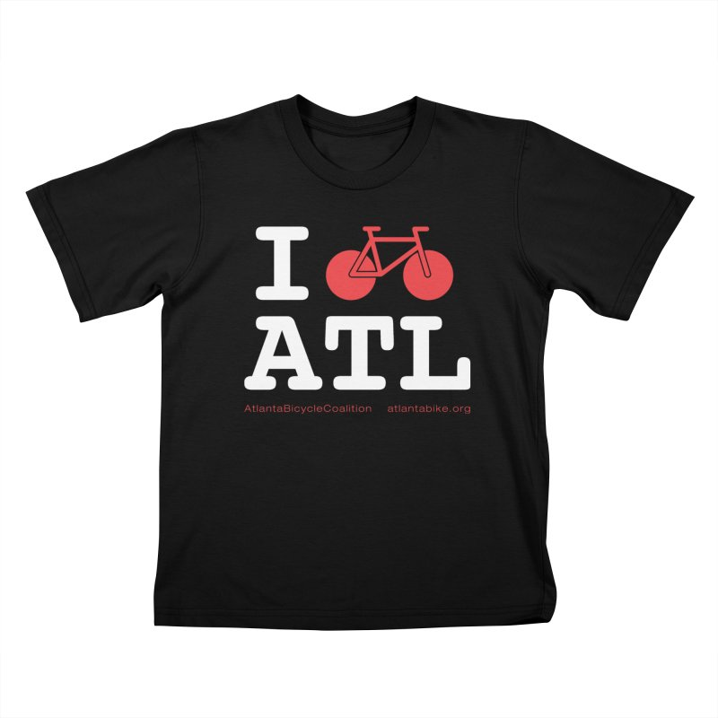 I bike ATL Kids T-Shirt by Atlanta Bicycle Coalition's Merch Shop