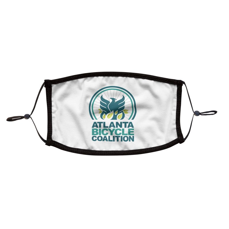 Atlanta Bicycle Coalition logo Accessories Face Mask by Atlanta Bicycle Coalition's Merch Shop