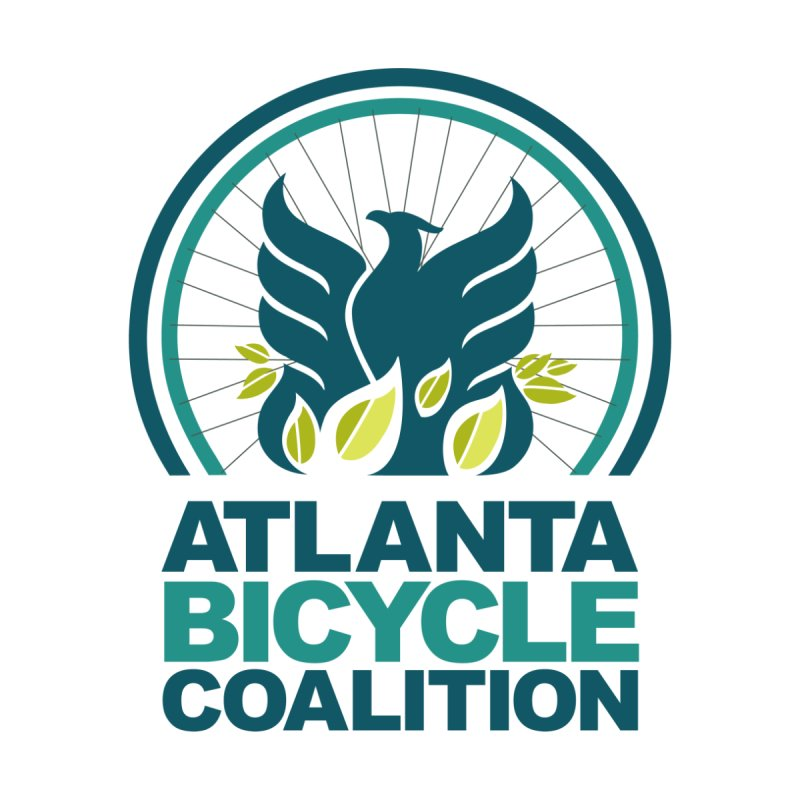 Logo Adult Tees Women's V-Neck by Atlanta Bicycle Coalition's Merch Shop