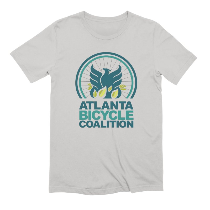 Atlanta Bicycle Coalition logo Men's T-Shirt by Atlanta Bicycle Coalition's Merch Shop