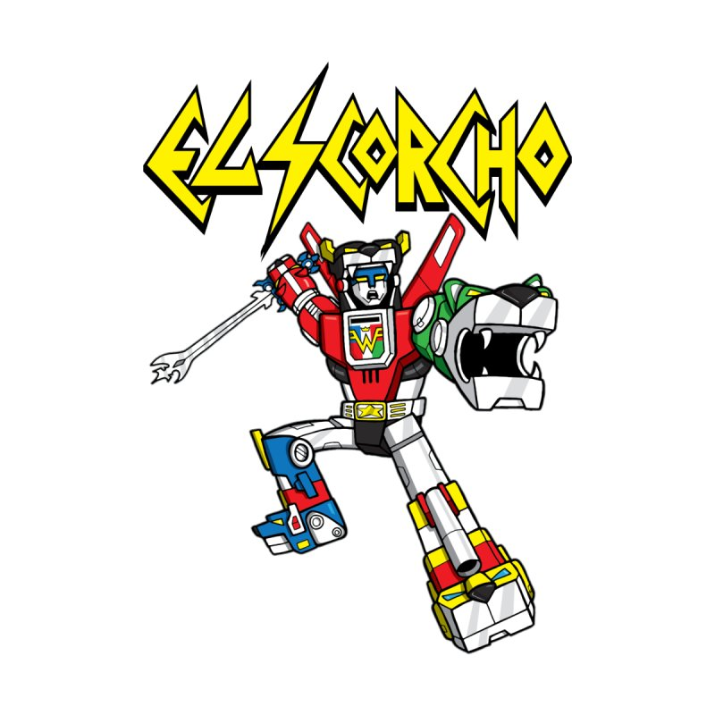 El Scorcho - Voltron Kids T-Shirt by ATL Tribute Bands Shop