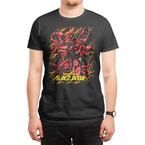 Design for Sazabi's armor is burning