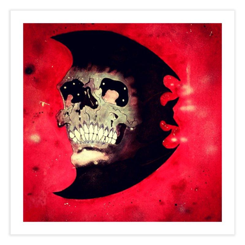 Vampire Bat Home Fine Art Print by atomagedevilman's Artist Shop