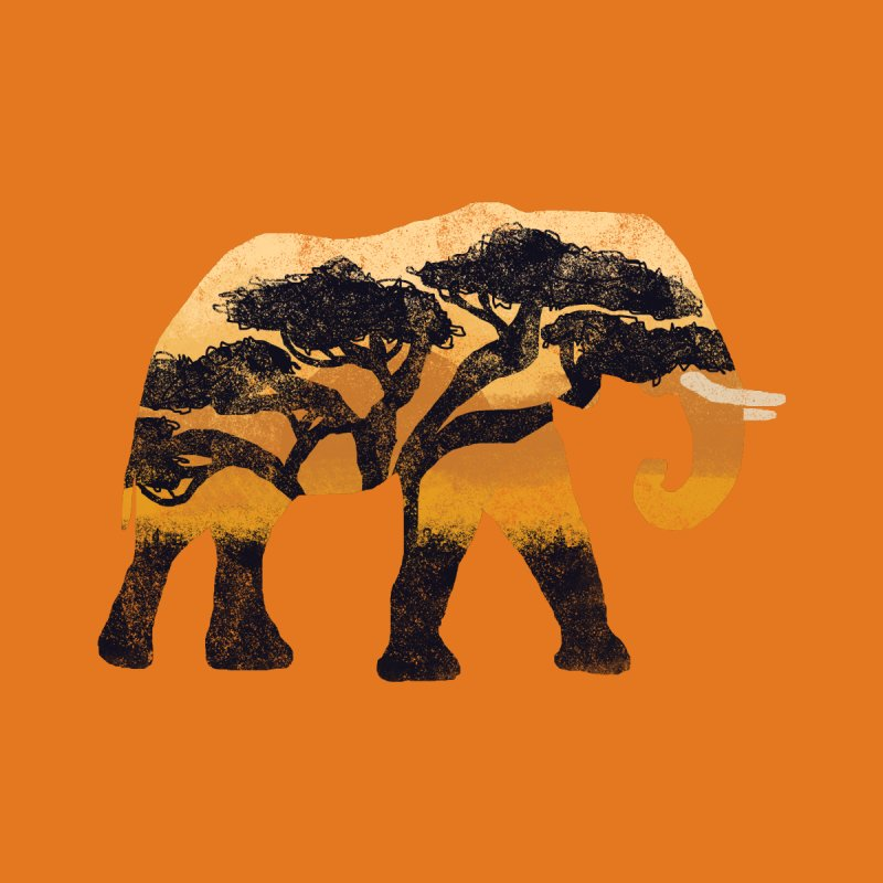 Safari Men's Tank by AtomicChild Design