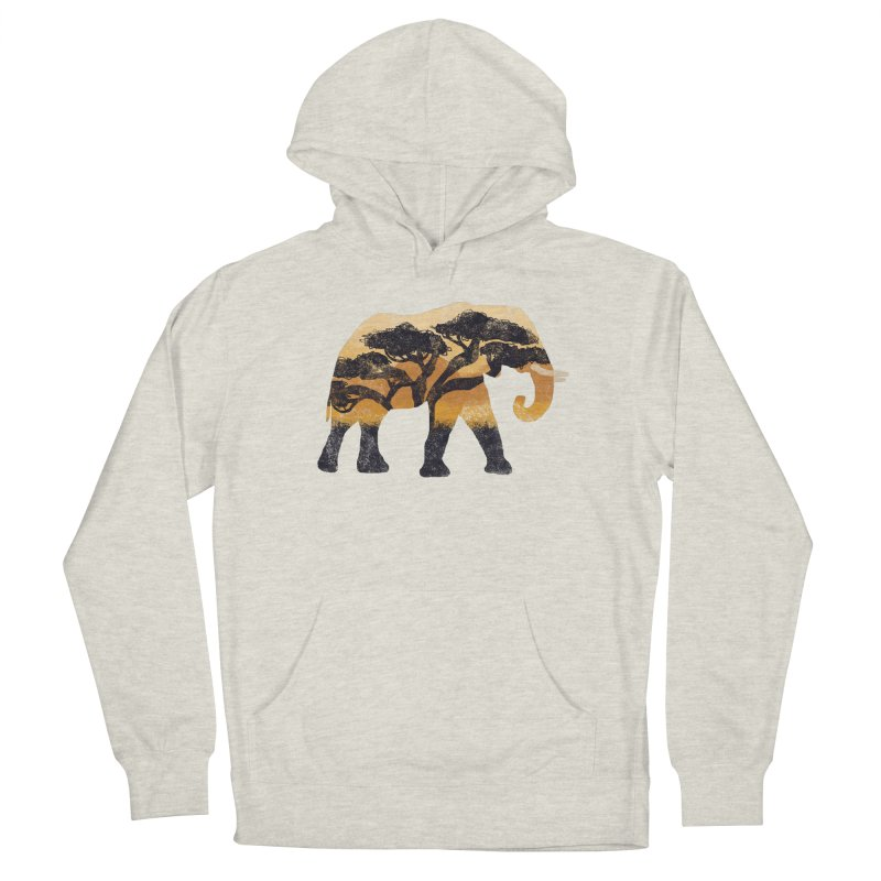 Safari Women's French Terry Pullover Hoody by AtomicChild Design