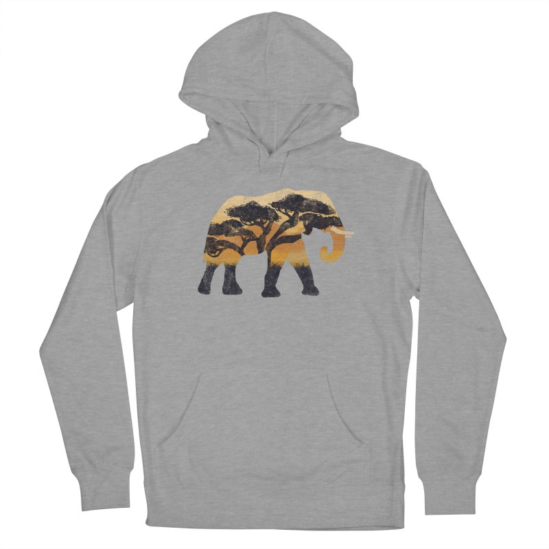Safari Men's French Terry Pullover Hoody by AtomicChild Design