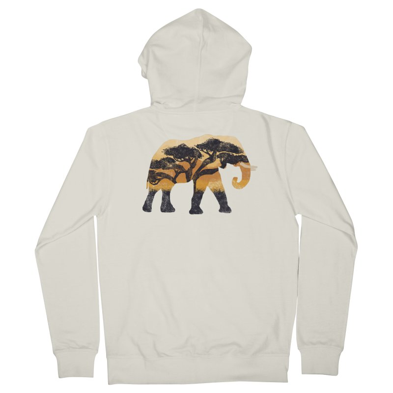 Safari Men's Zip-Up Hoody by AtomicChild Design