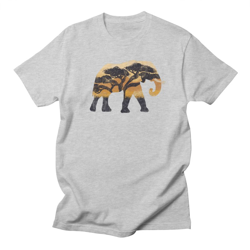 Safari Men's Regular T-Shirt by AtomicChild Design