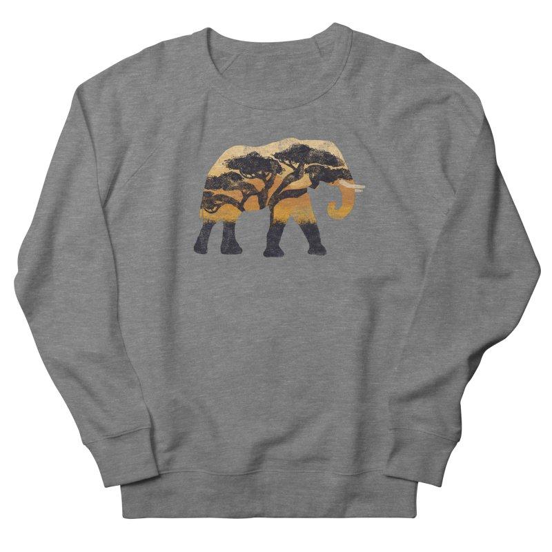 Safari Men's French Terry Sweatshirt by AtomicChild Design